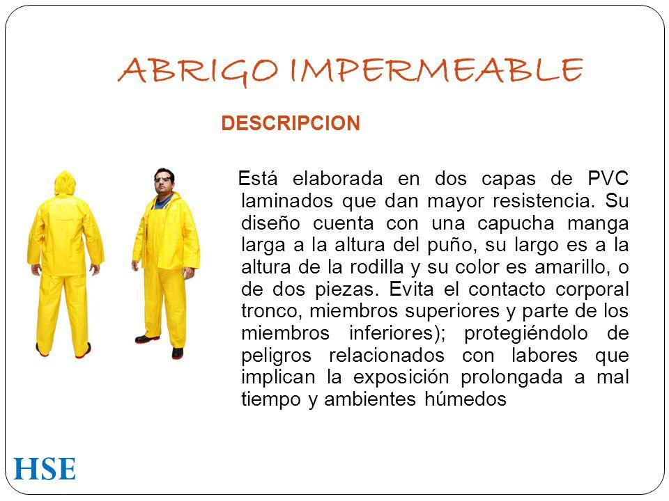 ABRIGO IMPERMEABLE HSE