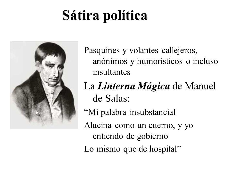 Sátira política La Linterna Mágica de Manuel de Salas: