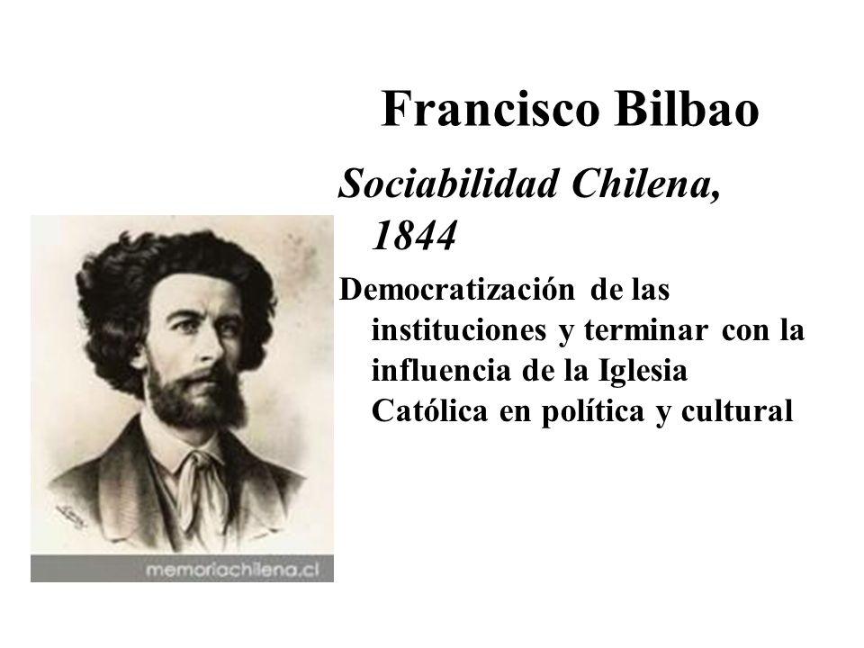 Francisco Bilbao Sociabilidad Chilena, 1844