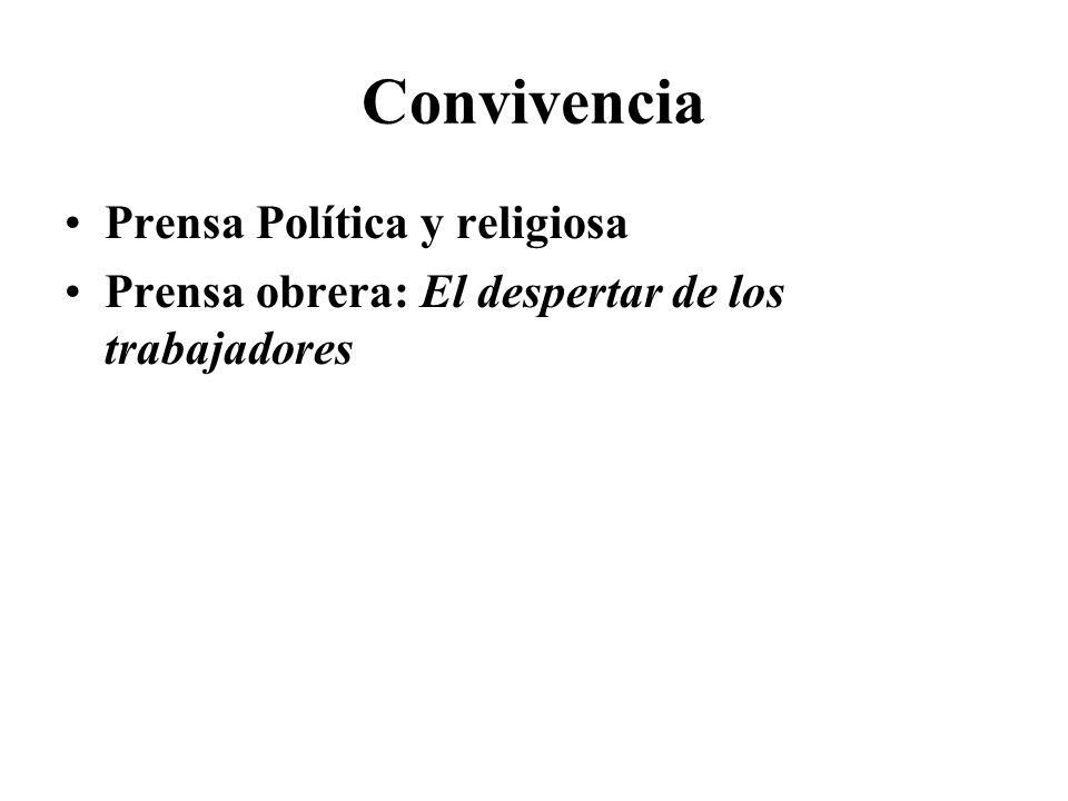 Convivencia Prensa Política y religiosa