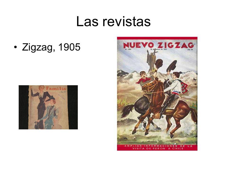 Las revistas Zigzag, 1905