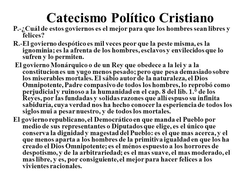 Catecismo Político Cristiano