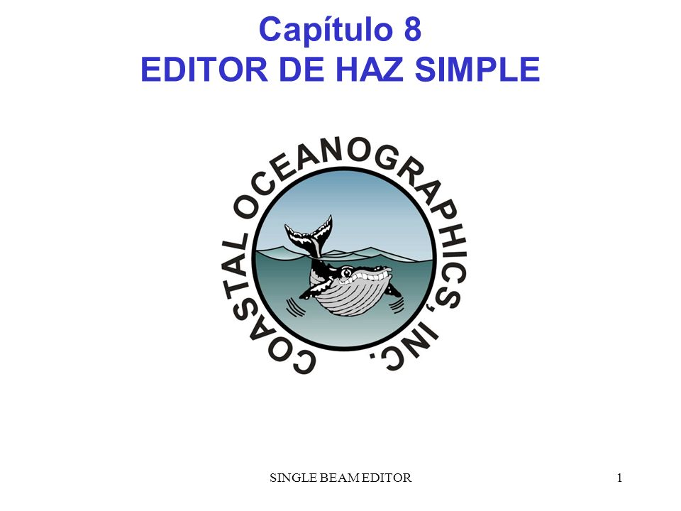 Capítulo 8 EDITOR DE HAZ SIMPLE