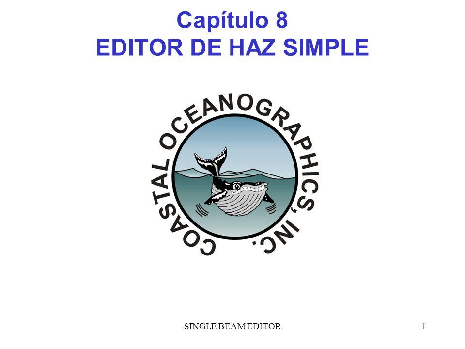 Capítulo 8 EDITOR DE HAZ SIMPLE