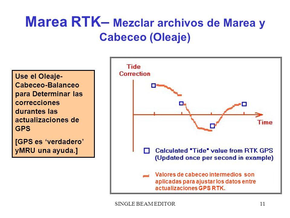 Marea RTK– Mezclar archivos de Marea y Cabeceo (Oleaje)