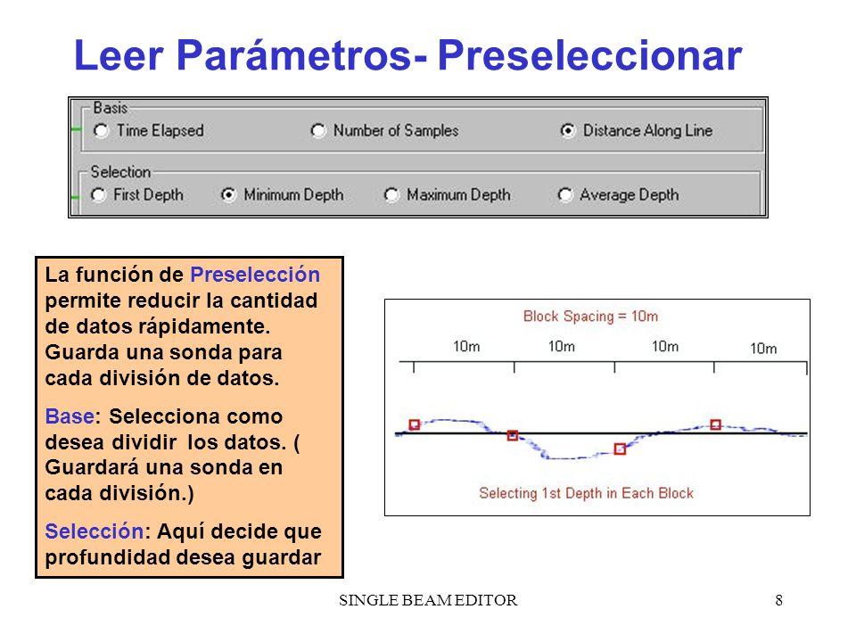 Leer Parámetros- Preseleccionar