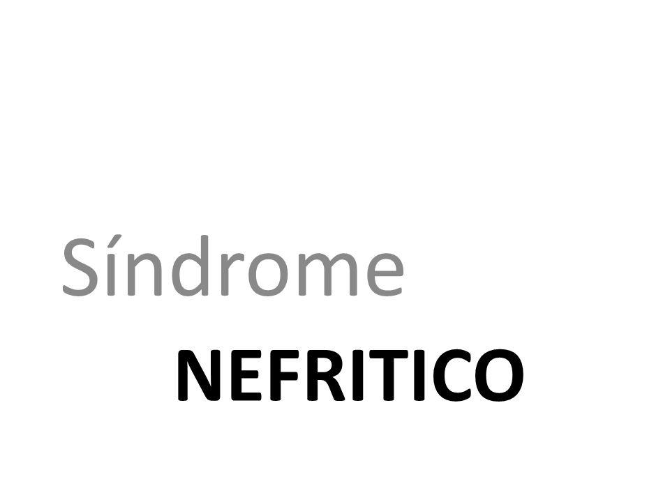Síndrome nefritico