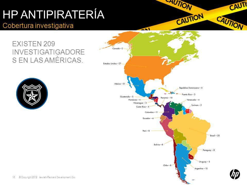 HP Antipiratería Cobertura investigativa