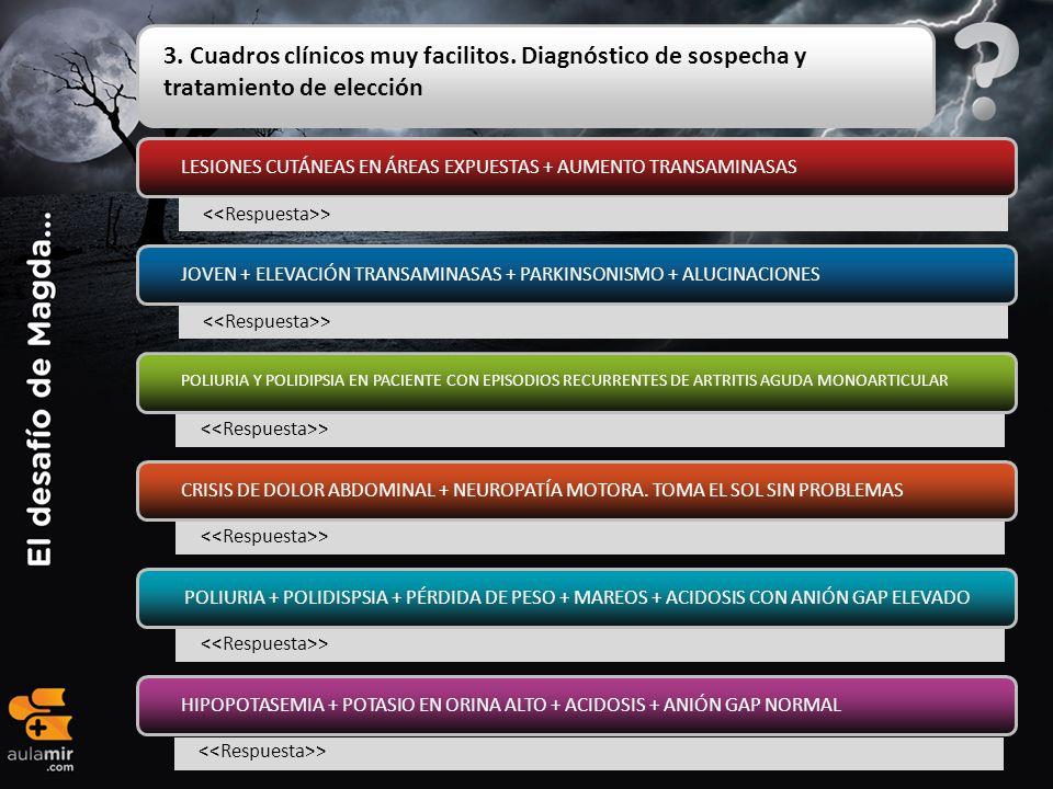 3. Cuadros clínicos muy facilitos