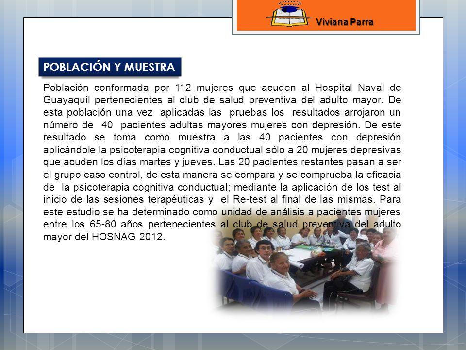 Viviana Parra POBLACIÓN Y MUESTRA.