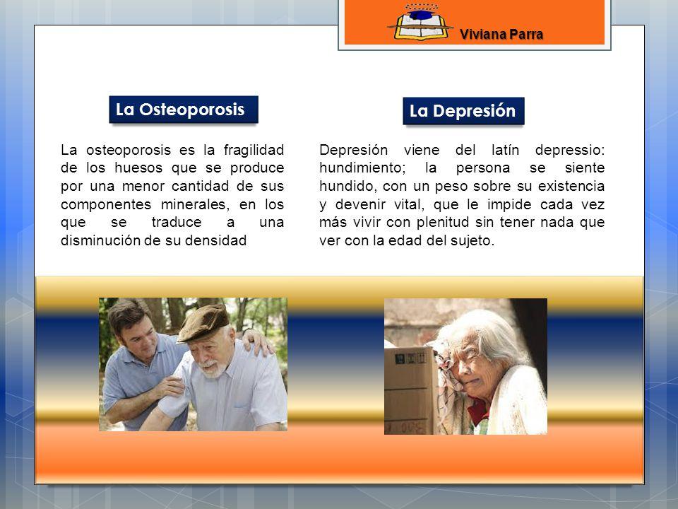 La Osteoporosis La Depresión