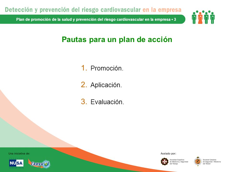 Pautas para un plan de acción