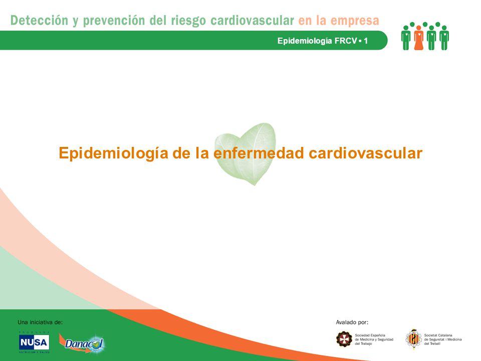 Epidemiología de la enfermedad cardiovascular