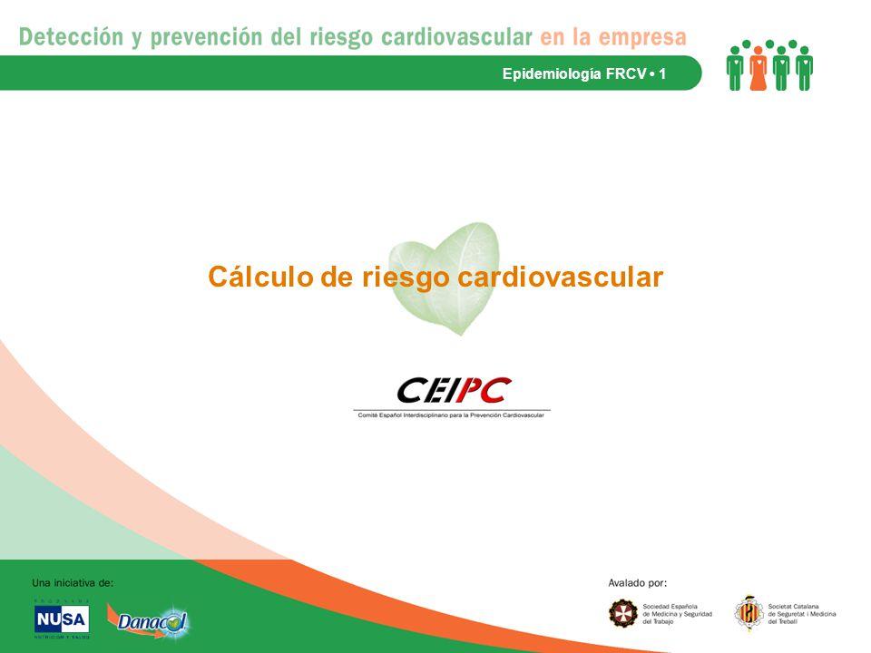 Cálculo de riesgo cardiovascular
