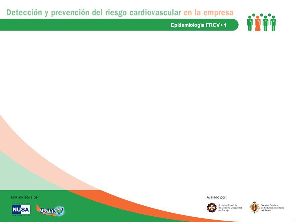 Epidemiología FRCV • 1