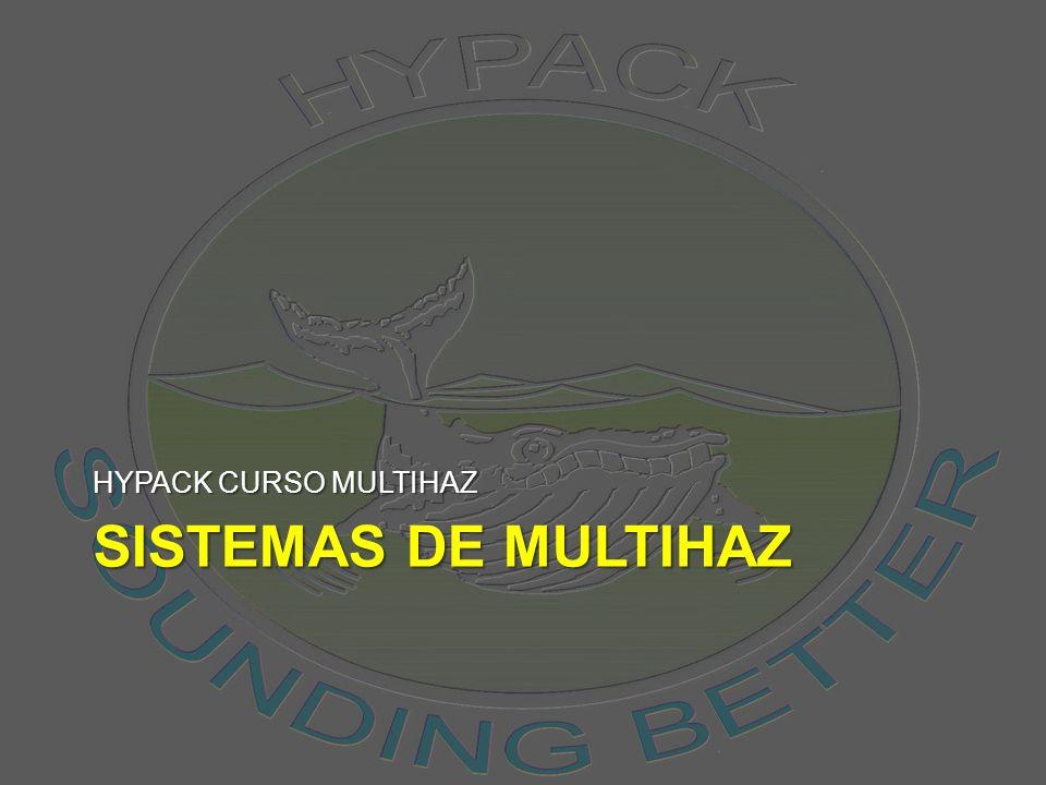 HYPACK CURSO MULTIHAZ SISTEMAS DE MULTIHAZ