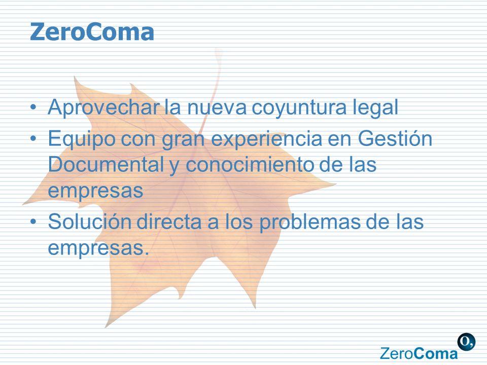 ZeroComa Aprovechar la nueva coyuntura legal