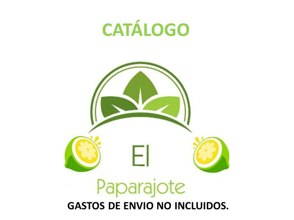 GASTOS DE ENVIO NO INCLUIDOS.