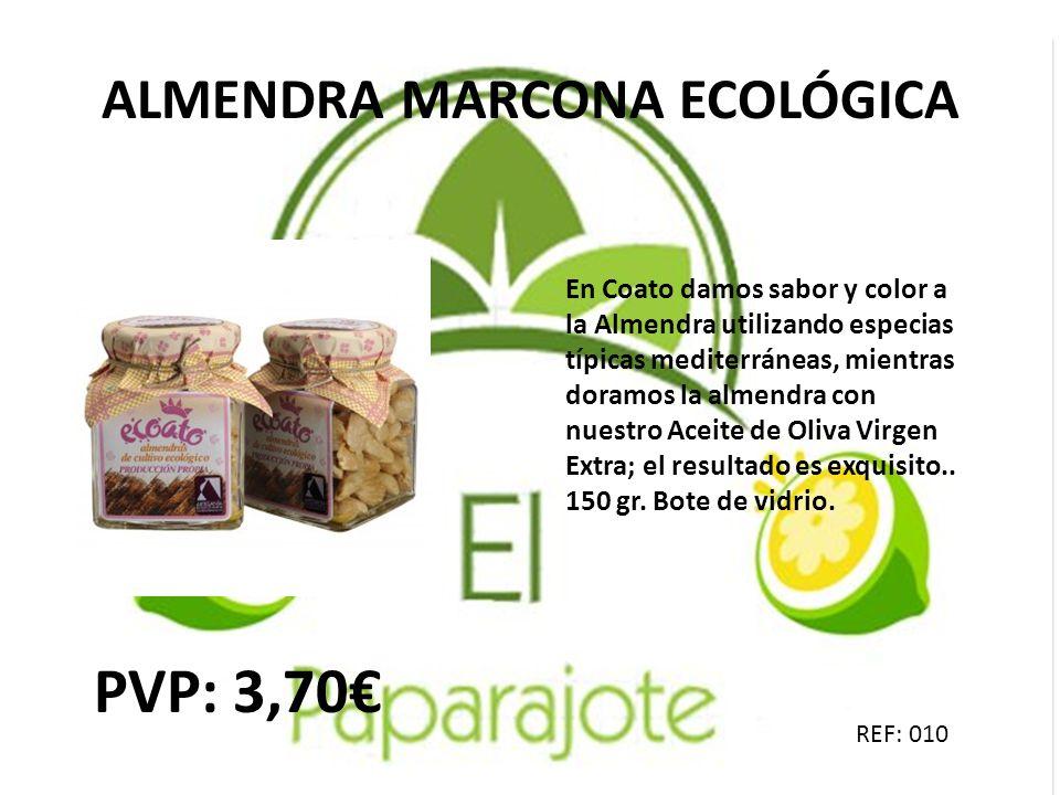 ALMENDRA MARCONA ECOLÓGICA