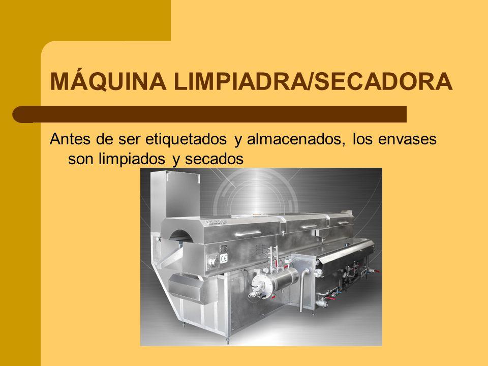 MÁQUINA LIMPIADRA/SECADORA