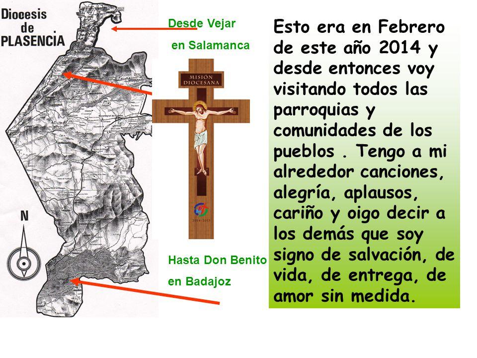 Desde Vejar en Salamanca. Hasta Don Benito. en Badajoz.