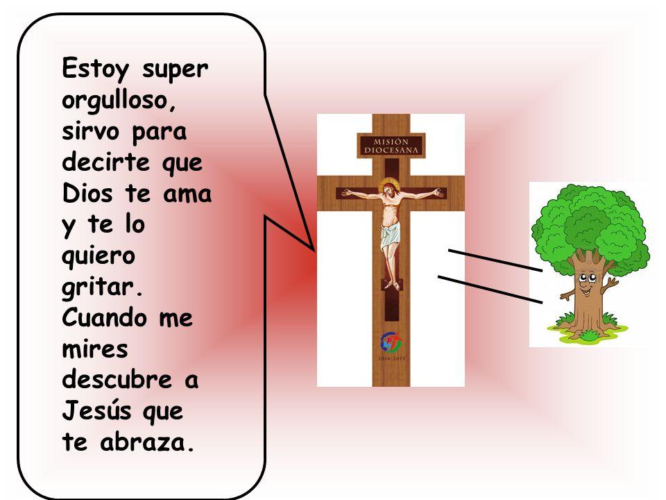 Estoy super orgulloso, sirvo para decirte que Dios te ama y te lo quiero gritar.