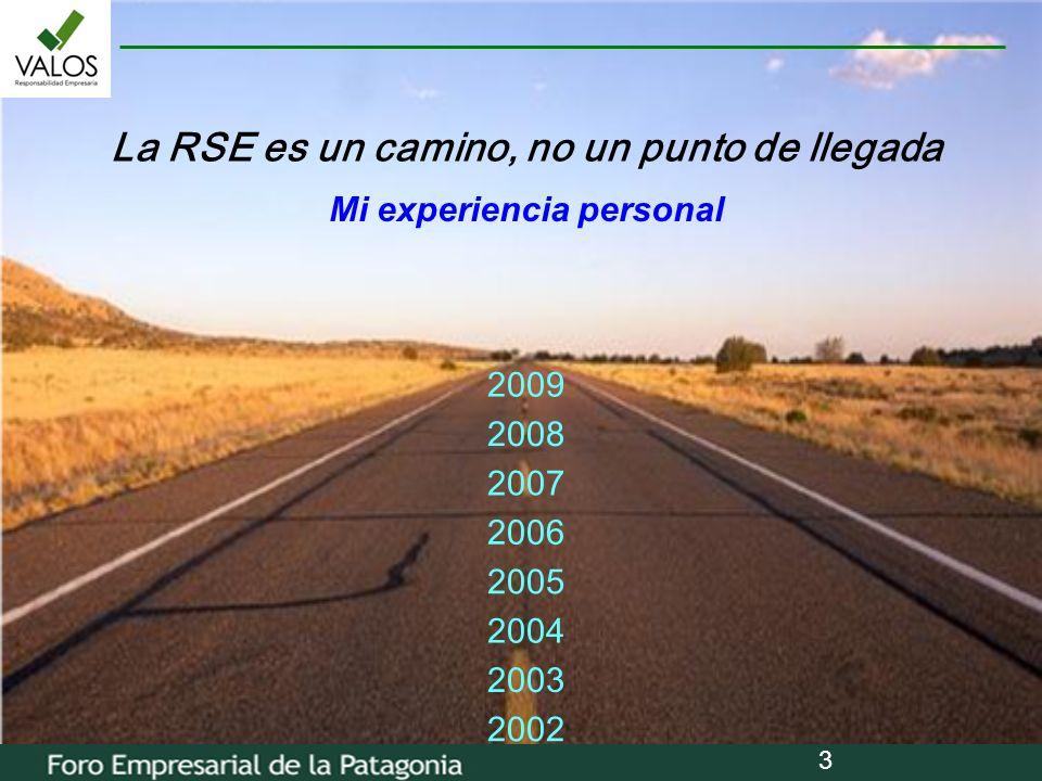 La RSE es un camino, no un punto de llegada