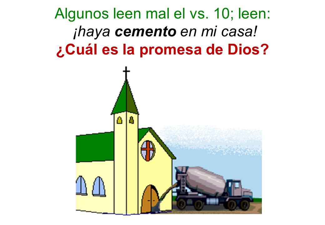 ¿Cuál es la promesa de Dios