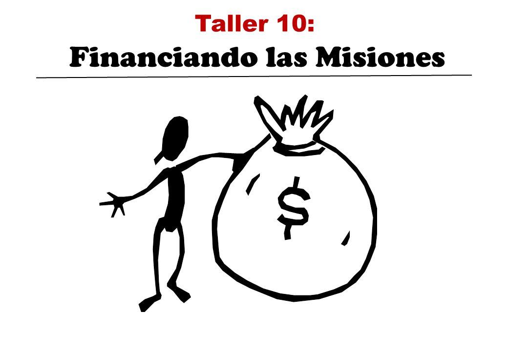 Taller 10: Financiando las Misiones