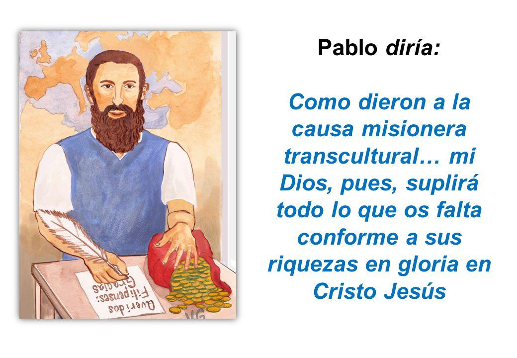 Pablo diría: