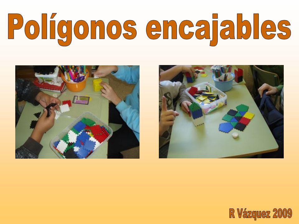 Polígonos encajables R Vázquez 2009