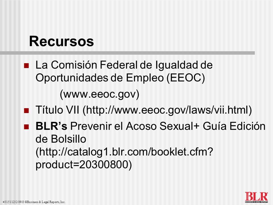 RecursosLa Comisión Federal de Igualdad de Oportunidades de Empleo (EEOC) (www.eeoc.gov) Título VII (http://www.eeoc.gov/laws/vii.html)
