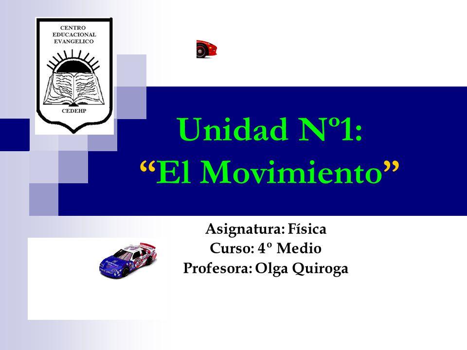 Unidad Nº1: El Movimiento