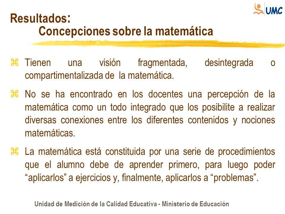 Concepciones sobre la matemática