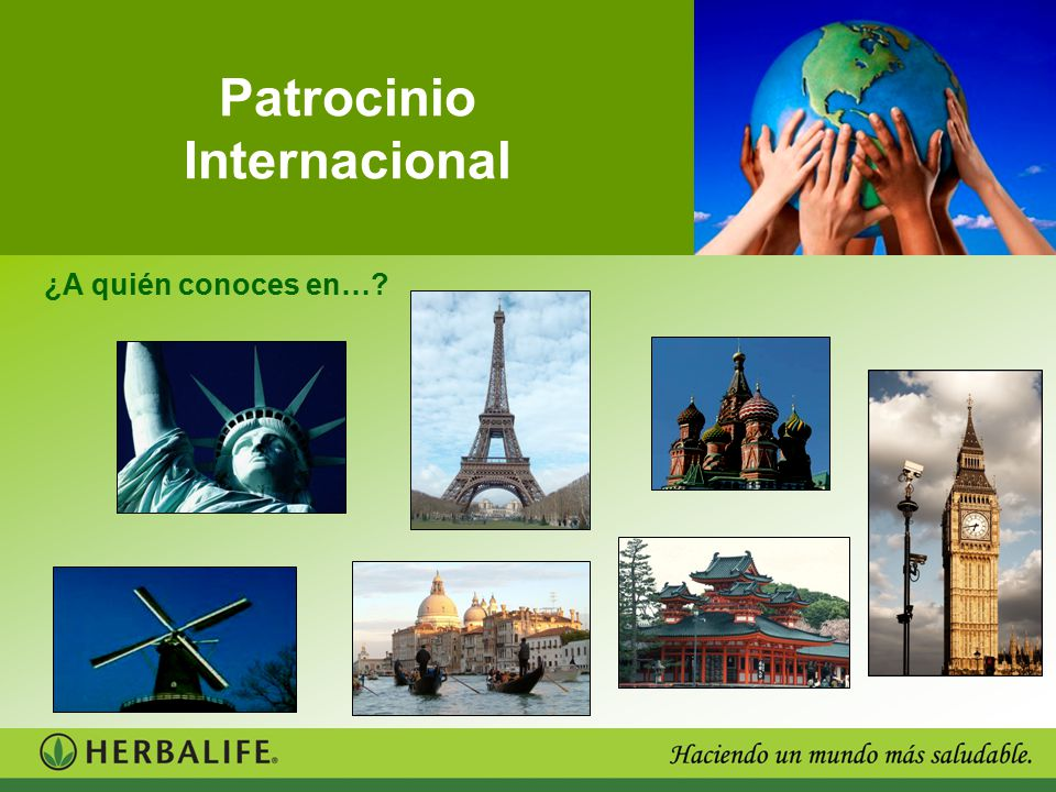 Patrocinio Internacional