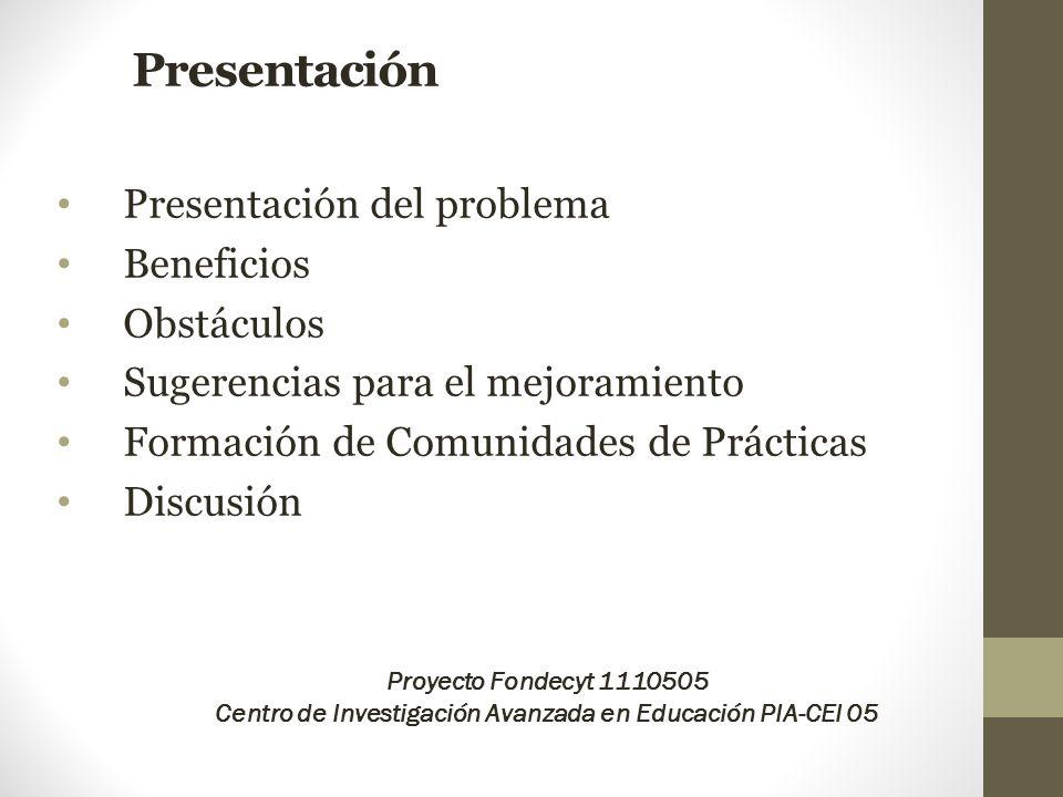 Centro de Investigación Avanzada en Educación PIA-CEI 05