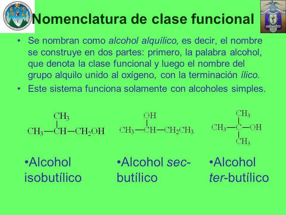 Nomenclatura de clase funcional
