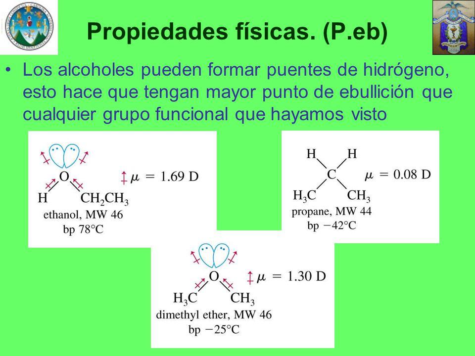 Propiedades físicas. (P.eb)
