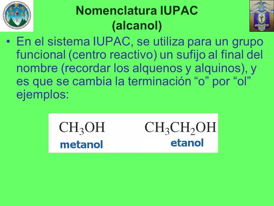Nomenclatura IUPAC (alcanol)