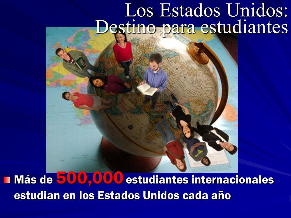 Los Estados Unidos: Destino para estudiantes