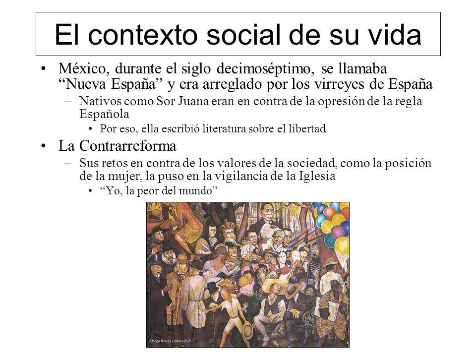 El contexto social de su vida