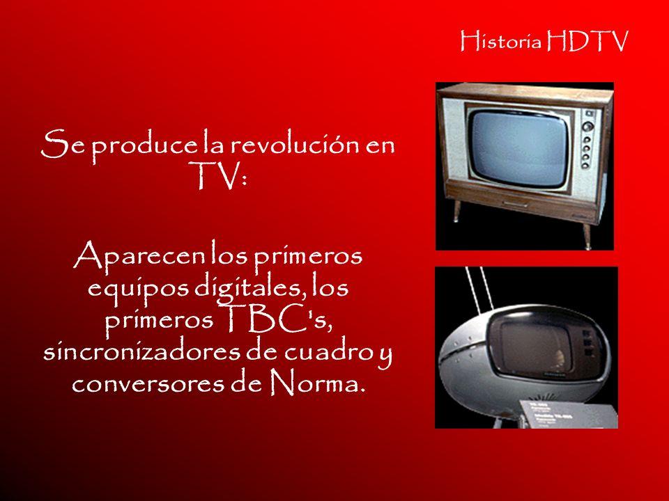 Se produce la revolución en TV: