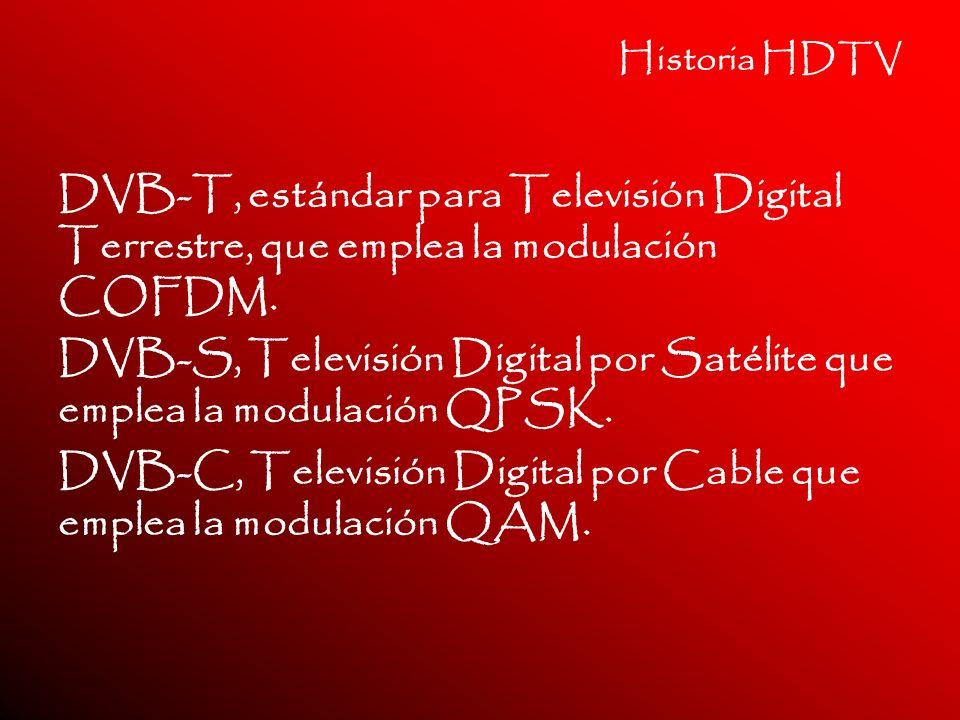 DVB-S, Televisión Digital por Satélite que emplea la modulación QPSK.