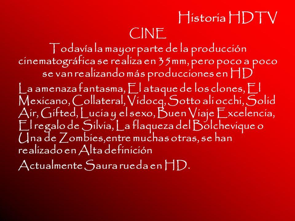 Historia HDTV CINE.