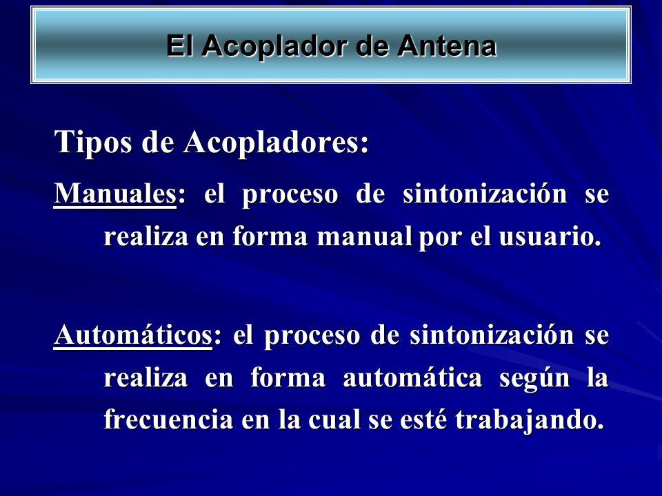 Tipos de Acopladores: El Acoplador de Antena