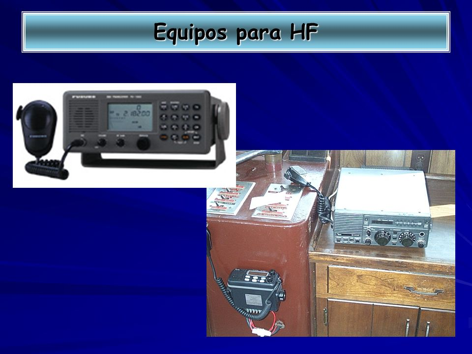Equipos para HF