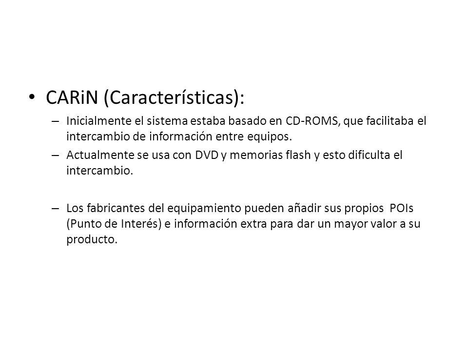 CARiN (Características):