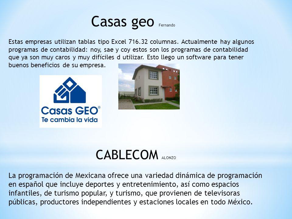 Casas geo Fernando CABLECOM ALONZO