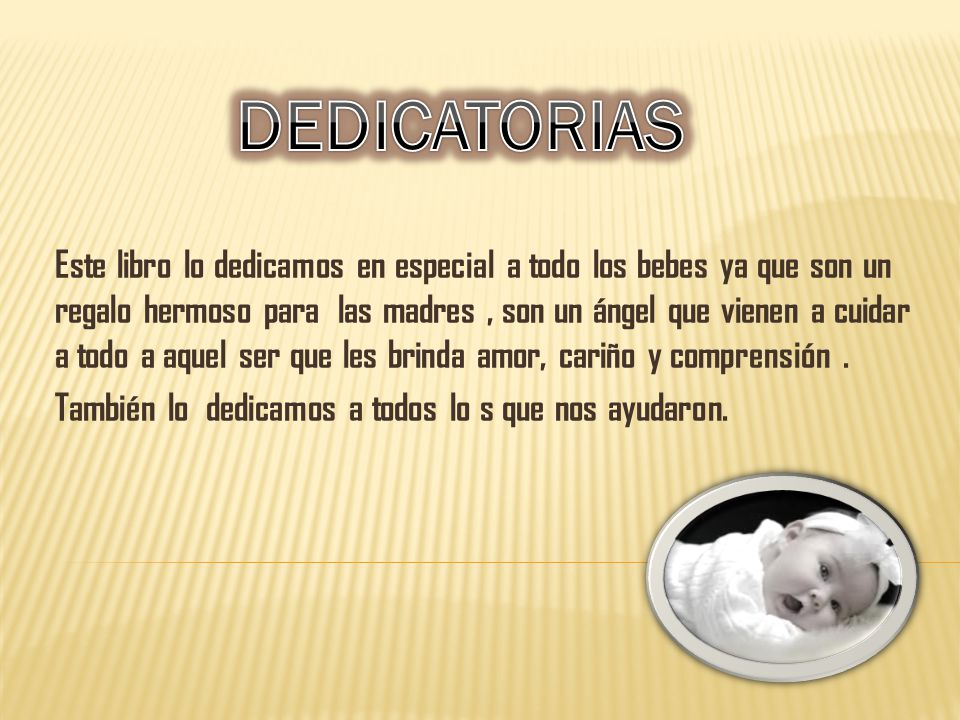 DEDICATORIAS