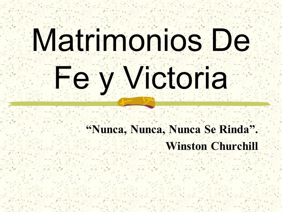 Matrimonios De Fe y Victoria